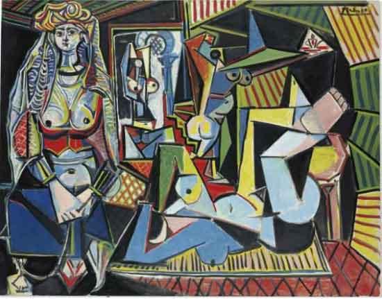 "Picasso, ""Les Femmes d'Alger (Version 'O'),"" 1955"