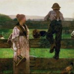 "Sold to...? Winslow Homer, ""Milking Time,"" 1875"