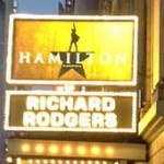 """On the ticket holders' line to see """"Hamilton"""" Photo by Lee Rosenbaum"""