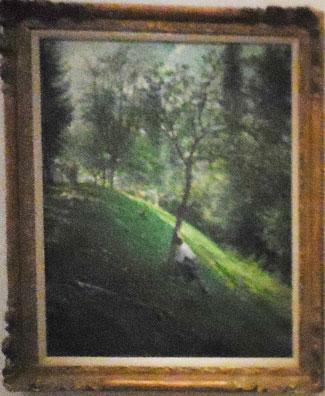 "Oller, ""French Landscape I,"" c. 1895-96, Instituto de Cultura Puertorriqueña, San Juan Photo by Lee Rosenbaum"