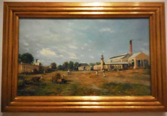 "Oller, ""Hacienda La Fortuna,"" 1885, Brooklyn Museum Photo by Lee Rosenbaum"