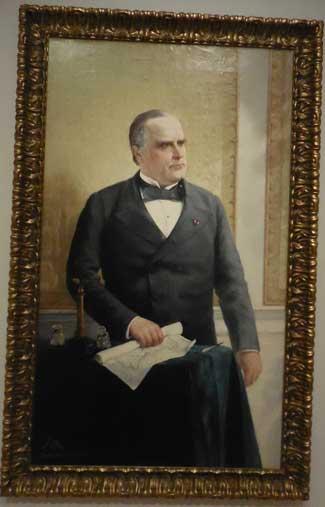 "Oller, ""President William McKinley,"" 1898, Collection of Dr. and Mrs. Eduardo Pérez Photo by Lee Rosenbaum"