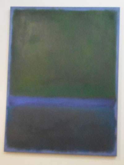 "Rothko, ""No. 17,"" 1957 Sold for $32.65 million ($29 million hammer) Photo by Lee Rosenbaum"