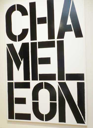 "Christopher Wool, ""Untitled,"" 1990 Photo by Lee Rosenbaum"
