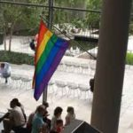 """Masterpiece of Design"": MoMA Flies Its Copy of ""Rainbow Flag"" for Pride Week; SFMOMA Marches!"