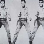 """The King"" Gets Dinged: Warhol ""Triple Elvis"" Roughed Up by SFMOMA Paparazzi"