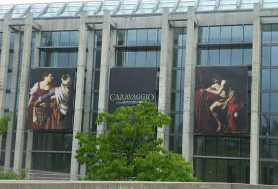 Entrance to the National Gallery of Canada, August, 2011