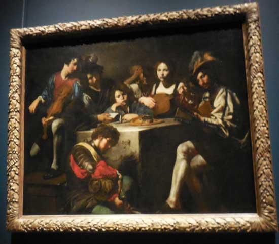 """""""Concert with a Bas-Relief,"""" ca. 1624-26, Musée de Louvre"""