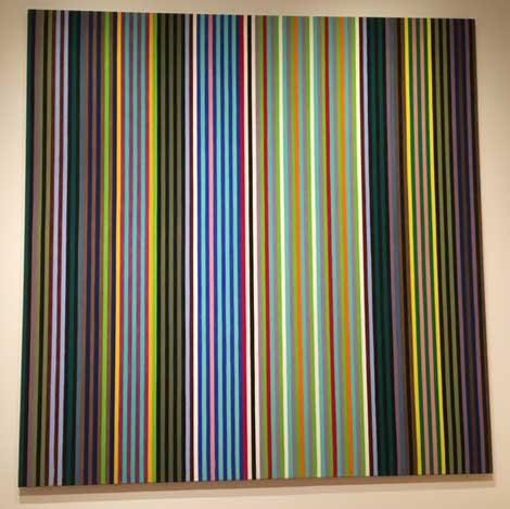 "Gene Davis, ""Black Popcorn, 1965, ex-Corcoran"