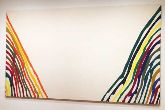 "Morris Louis, ""Beta Kappa,"" 1961"