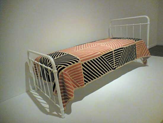 Munch's bedspread, Munch Museum