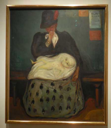 "Munch, ""Inheritance,"" 1897-99. Munch Museum"