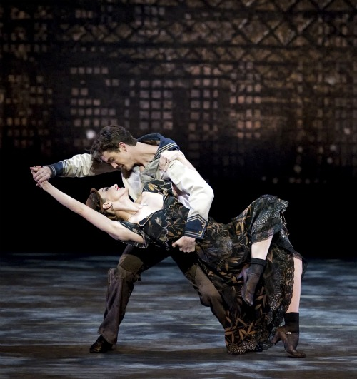 Kristi Boone and Gray Davis in Paul Taylor's Black Tuesday. Photo: Gene Schiavone