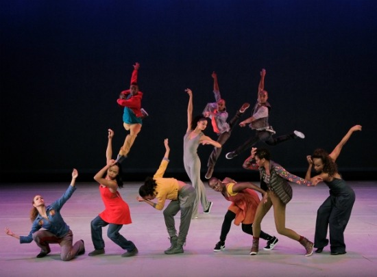Bringing it Home (Alicia Graf Mann, center). Photo: Paul Kolnik