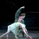 Cory Stearns as Oberon and Xiomra Reyes as Titania in ABT's The Dream. Photo: Gene Schiavone