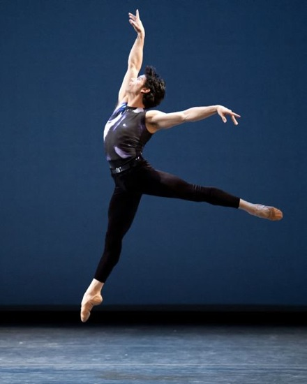 The peerless Herman Cornejo in Ratmansky's Symphony #9. Photo: Gene Schiavone