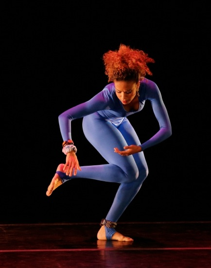 Belen Bereyra in Garth Fagan's From Before. Photo: Paul Kolnik
