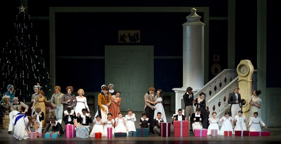 Opening presents in Alexei Ratmansky's The Nutcracker. Photo: Gene Schiavone
