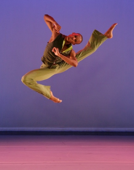 Yannick LeBrun of the Alvin Ailey American Dance Theater in Kyle Abraham's Another Story. Photo: Paul Kolnik