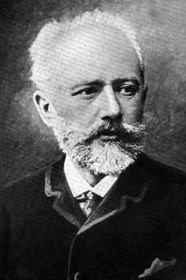 Peter Ilyitch Tchaikovsky, keeping an eye on his creations