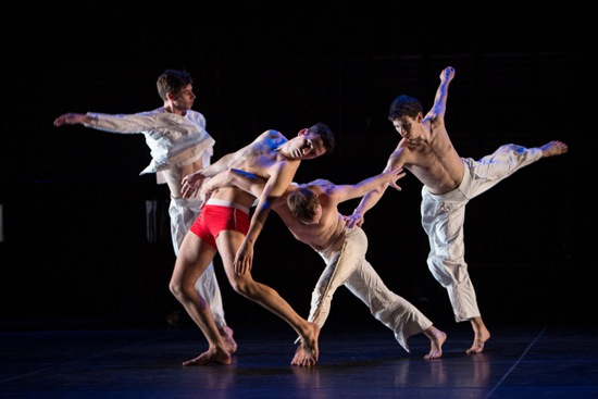 (L to R): Stuart Shugg, Nicholas Strafaccia, Neal Beasely, and Samuel Wentz. Photo: Yi-Chun Wu