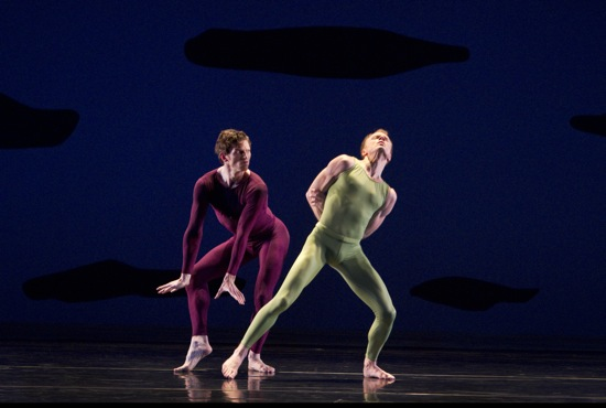 Sean Mahoney (L) and Michael Trusnovec in Scudorama. Photo: Paul B. Goode