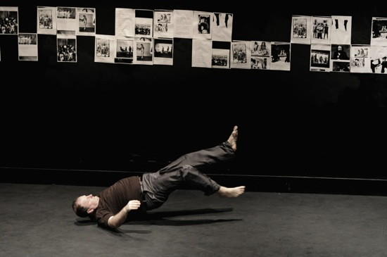 John Scott in his The White Piece. Photo: Ewa Figaszewska