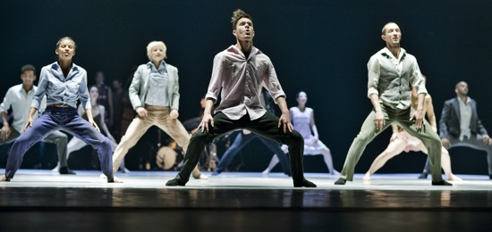Danish Dance Theatre in Tim Rushton's Love Songs. Photo: Björn Ørsted