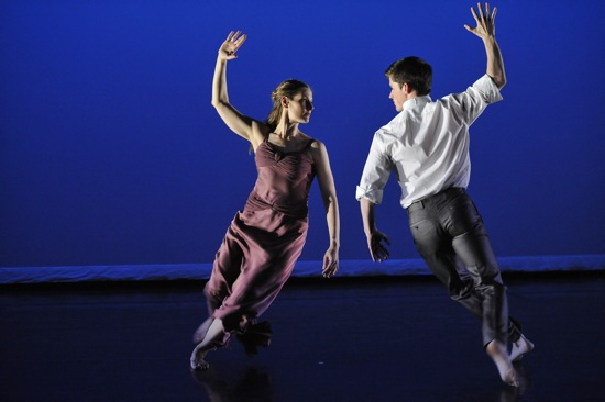 Jenn Weddel and Spencer Ramirez in Morris's Jenn and Spencer. Photo: Stephanie Berger