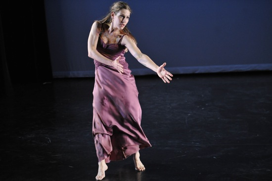 Jenn Weddel in Jenn and Spencer. Photo: Stephanie Berger