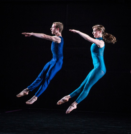 Andrew Champlin and Maggie Cloud in The Spectators. Photo: Yi-Chun Wu