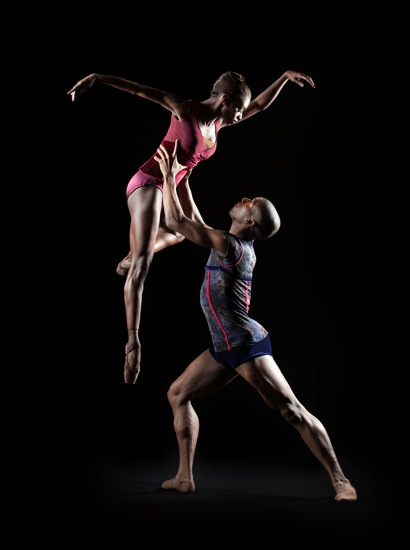 Ashley Murphy and Da' Von Doane in John Alleyne's Far But Close. Photo: Rachel Neville