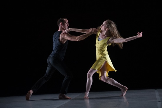 Brian Brooks and Wendy Whelan in Brooks's First Fall. Photo: Christopher Duggan