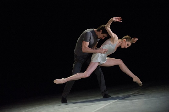 Wendy Whelan and Alejandro Cerrudo in Cerrudo's Ego et Tu. Photo: Christopher Duggan