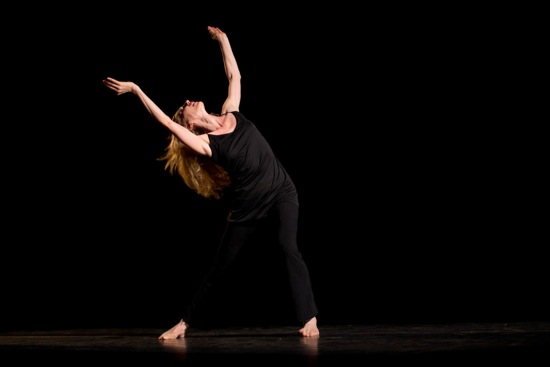 Katherine Crockett in Richard Move's Lamentation Variation. Photo: Em Watson, courtesy of Jacob's Pillow