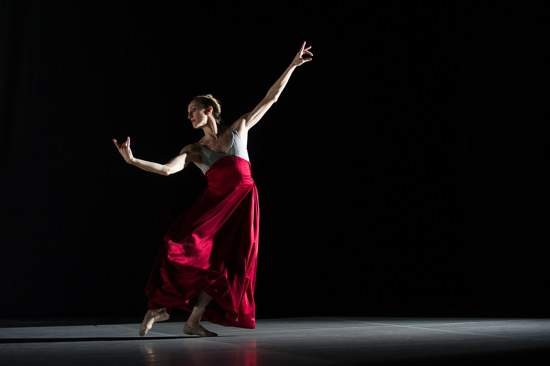 Wendy Whelan in Joshua Beamish's Waltz Epoca. Photo: Christopher Duggan