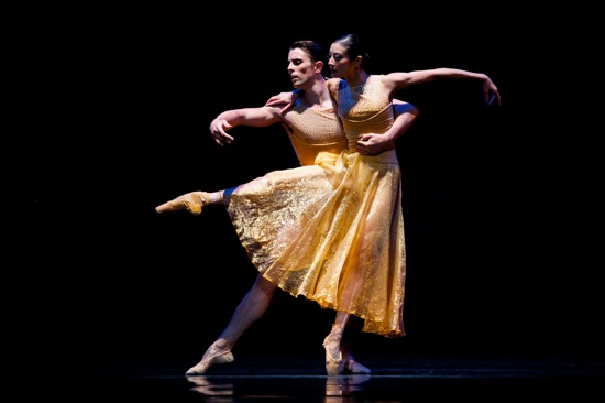 Yuan Yuan Tan and Luke Ingham in Edwaard Liang's Symphonic Dance. Photo: Erik Tomasson