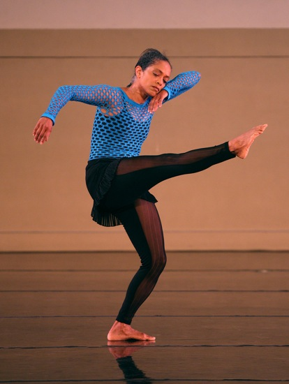 Natalie Rogers, costumed for Garth Fagan's No Evidence of Failure. Photo: Greg Barrett