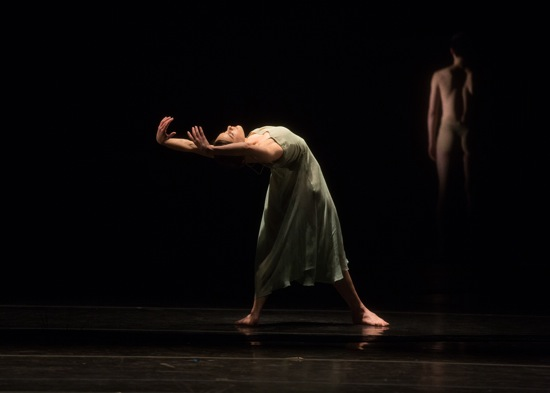 Kristina Bentz in Pina Bausch's Wind von West. Photo: Rosalie O'Connor