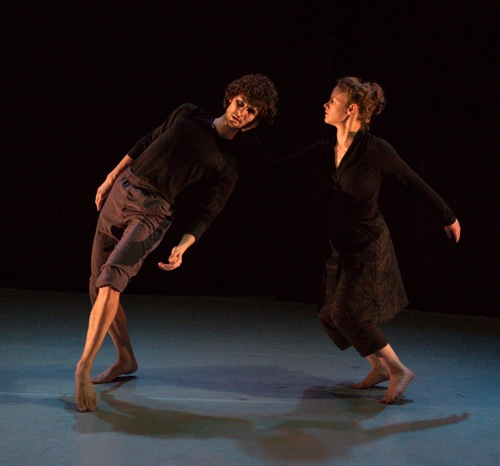 Olsi Gjeci and Marilyn Maywald in Shick's Pathétique/Miniatures in Detail. Photo: Yi-Chun Wu