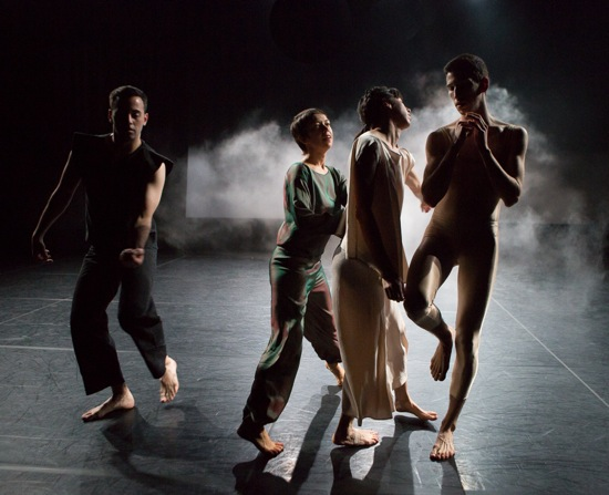 (L to R): Nick Strafaccia, Elena Demyanenko, Tamara Riewe, and Samuel Wentz. Photo: Yi-Chun Wu