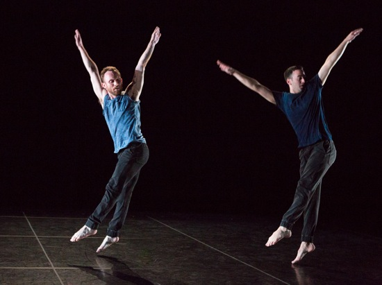 Trisha Brown's Rogues. In this cast: Neal Beasley (L) and Nicholas Strafaccia. Photo: Yi-Chun Wu