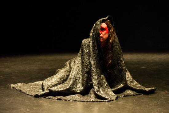 Luciana Achugar in her Otro Teatro. Photo: Ian Douglas