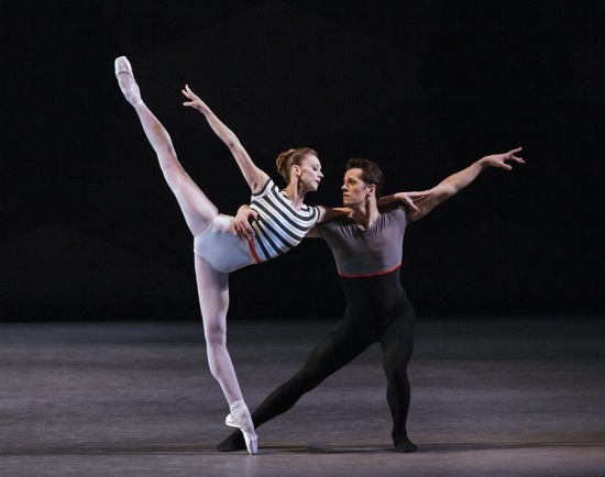 Maria Kowroski and Robert Fairchild in Everywhere We Go. Photo: Paul Kolnik