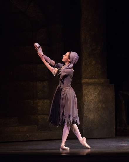 Hee Seo as Cinderella. Photo: Rosalie O'Connor