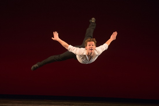 Daniel Ulbricht in Larry Keigwin's Sunshine. Photo: Christopher Duggan