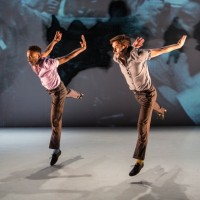 "Jeremy ""Jae"" Neal (L) and Matthew Baker in Kyle Abraham's The Gettin'. Photo Yi-Chun Wu"