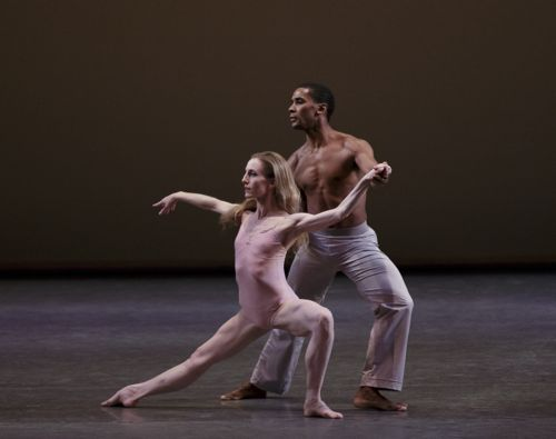 Wendy Whelan and Craig Hall in Christopher Wheeldon's After the Rain. Photo: Paul Kolnick