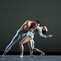 Marcelo Gomes and Hee Seo in Liam Scarlett's With a Chance of Rain. Photo: Marty Sohl