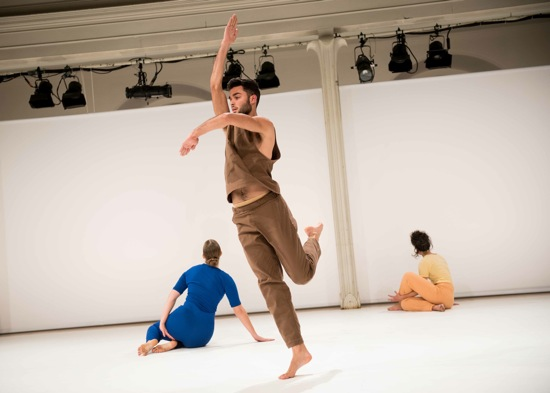 L to R: Amanda Kmett'Pendry, Marc Crousillat, and Netta Yerushalmy. Photo: Ian Douglas